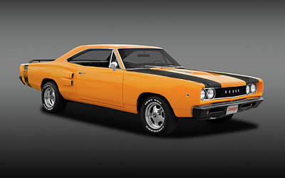 Photograph - 1968 Dodge Super Bee 2 Door Coupe  -  1968dodgesuperbfa170278 by Frank J Benz