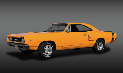 Photograph - 1968 Dodge Super Bee 2 Door Coupe  -  1968superbeedodgefa173415 by Frank J Benz