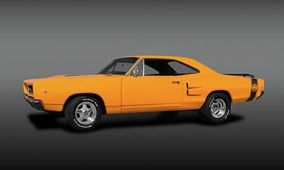 Photograph - 1968 Dodge Super Bee 2 Door Coupe  -  1968superbeedodgefa173419. by Frank J Benz