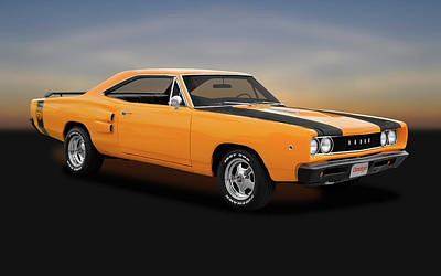 Photograph - 1968 Dodge Super Bee 2 Door Coupe -  1968dodgesuperbee170278 by Frank J Benz