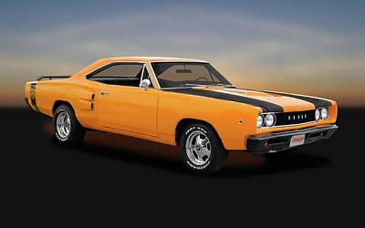 Photograph - 1968 Dodge Super Bee 2 Door Coupe -  1968dodgesuperbee170278 by Frank J Benz