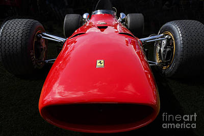 Photograph - 1968 Ferrari 312 F1 by Dennis Hedberg