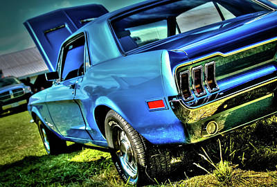 1968 Ford Mustang Art Print