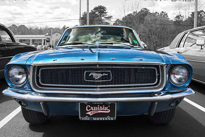Photograph - 1968 Ford Mustang by Kristia Adams