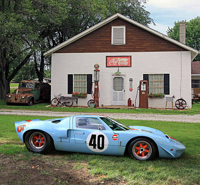 1968 Gulf Mirage In Missouri Art Print