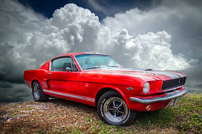 Mag Photograph - 1968 Mustang by Debra and Dave Vanderlaan