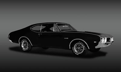 Photograph - 1968 Oldsmobile 442 Hardtop Coupe  -  1968olds442fa173468 by Frank J Benz