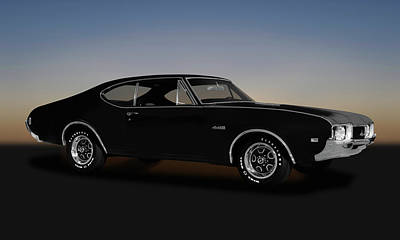 Photograph - 1968 Oldsmobile 442 Hardtop Coupe  -  1968oldsmobile442173468 by Frank J Benz