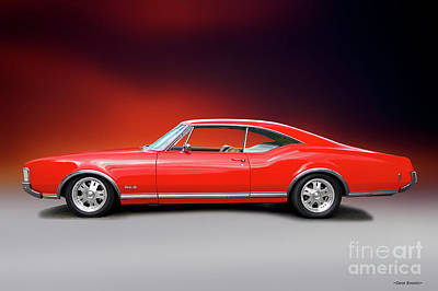 Grimm Fairy Tales Royalty Free Images - 1968 Oldsmobile Delta 88 Studio Profile II Royalty-Free Image by Dave Koontz