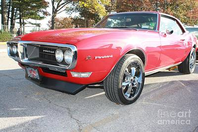 Photograph - 1968 Pontiac Firebird With 350 by John Telfer