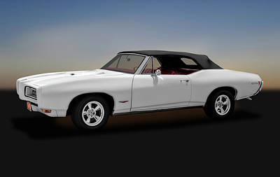 Photograph - 1968 Pontiac Gto Convertible   -   1968pontiacgtoconvertible170697 by Frank J Benz