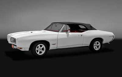 Photograph - 1968 Pontiac Gto Convertible   -   1968pontiacgtocvgry170697 by Frank J Benz