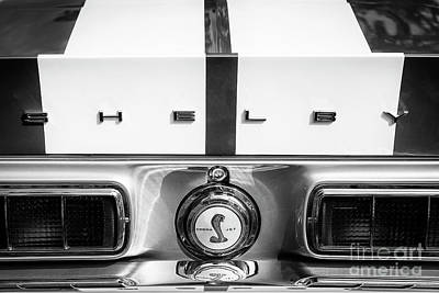 Photograph - 1968 Shelby by Dennis Hedberg