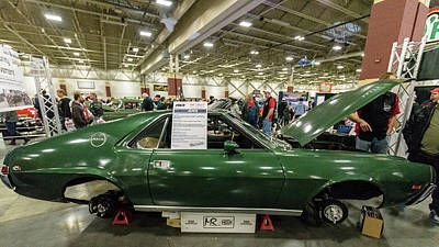 Photograph - 1969 Amc Amx by Randy Scherkenbach