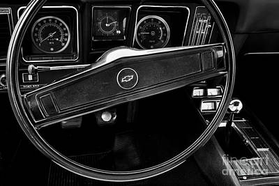 Photograph - 1969 Camaro Interior by Dennis Hedberg