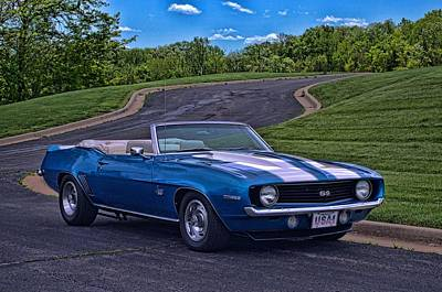 Photograph - 1969 Camaro Ss Convertible by Tim McCullough