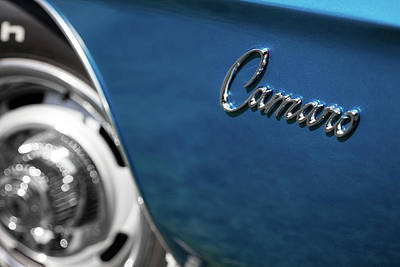Photograph - 1969 Chevrolet Camaro Z28 Emblem by Ron Pate
