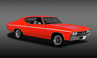 Photograph - 1969 Chevrolet Chevelle Ss-396   -   69ss396chevellefa170323 by Frank J Benz