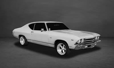 Photograph - 1969 Chevrolet Chevelle Ss-396 L78  -  Wh55 by Frank J Benz