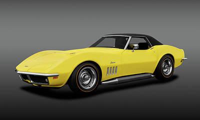 Photograph - 1969 Chevrolet Corvette Stingray L71 427 Convertible  -  1969corvettestingray427fa183691 by Frank J Benz