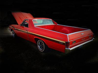Photograph - 1969 Chevy El Camino by Anne Sands