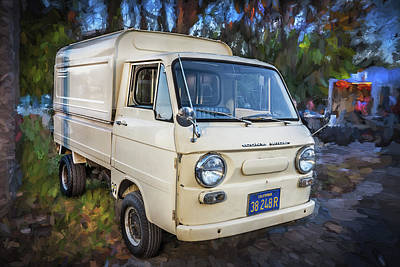 Photograph - 1969 Datsun Nissan Cony Truck 360 Wide by Rich Franco