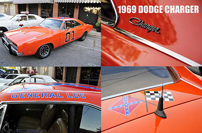 Photograph - 1969 Dodge Charger by David Lee Thompson