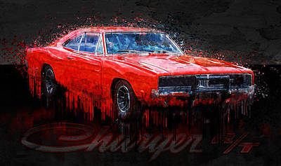 Photograph - 1969 Dodge Charger R/t by Ray Van Gundy