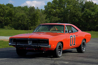 Photograph - 1969 Dodge Charger Rt by Tim McCullough