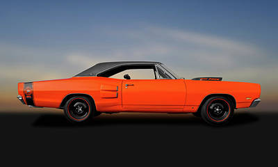 Photograph - 1969 Dodge Super Bee 440  -  1969dodgesuperbee440140069 by Frank J Benz