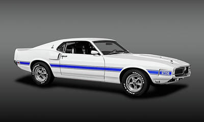Photograph - 1969 Ford Shelby Cobra Mustang Gt-350  -  1969shelbygt350fa173643 by Frank J Benz