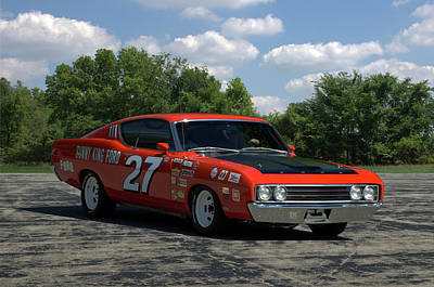 Photograph - 1969 Ford Torino Talladega Race Car Replica by Tim McCullough