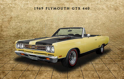 Photograph - 1969 Plymouth Gtx 440 - 1 by Frank J Benz
