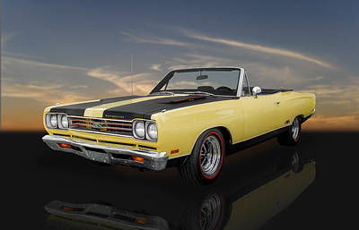 Photograph - 1969 Plymouth Gtx 440 - 2 by Frank J Benz