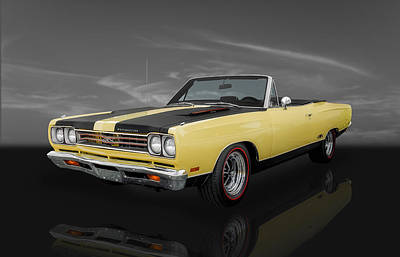 Photograph - 1969 Plymouth Gtx 440 - 3 by Frank J Benz