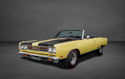 Photograph - 1969 Plymouth Gtx 440 Convertible - 4 by Frank J Benz