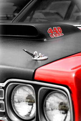 Roadrunner Digital Art - 1969 Plymouth Road Runner 440 6bbl by Gordon Dean II