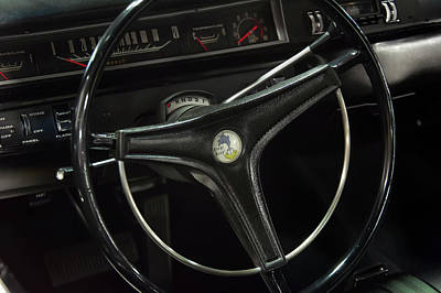 Photograph - 1969 Plymouth Road Runner A12 Dash by Chris Flees