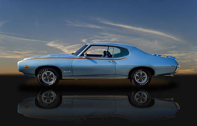 Photograph - 1969 Pontiac Gto Judge - 1 by Frank J Benz