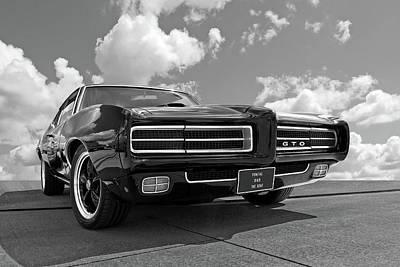 Photograph - 1969 Pontiac Gto The Goat by Gill Billington