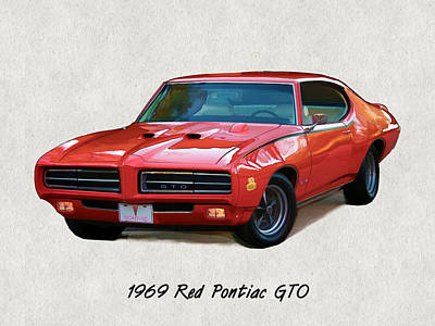 Muscle Car Paintings Fine Art America