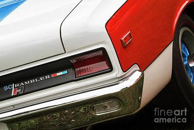 Photograph - Hurst Scrambler Rear 1 by Dennis Hedberg