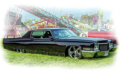 Photograph - 1970 Cadillac Deville 2 Vignette by Steve Harrington