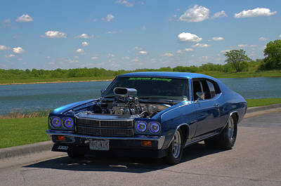 Photograph - 1970 Chevelle Pro Street Dragster by TeeMack