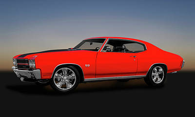 Photograph - 1970 Chevelle Ss 454 Hardtop  -  1970chevelle454sscoupe149513 by Frank J Benz