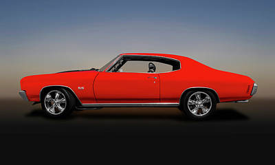 Photograph - 1970 Chevelle Ss 454 Hardtop  -  1970chevelless454coupe149512 by Frank J Benz