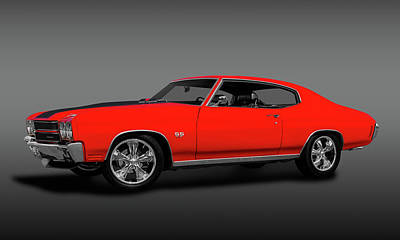 Photograph - 1970 Chevelle Ss 454 Hardtop  -  1970chevelless454coupefa149513 by Frank J Benz