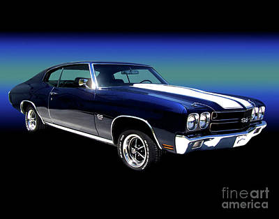 Photograph - 1970 Chevelle Ss by Peter Piatt