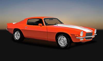 Photograph - 1970 Chevrolet Camaro  -  1970chevycamaro0041 by Frank J Benz