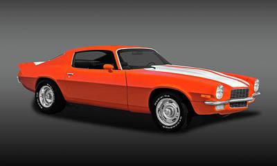 Photograph - 1970 Chevrolet Camaro  -  1970chvcamfa0041 by Frank J Benz
